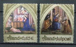Finnland Alandinseln Finland Aland Islands Mi# 384-5 Postfrisch/MNH - Christmas - Ålandinseln