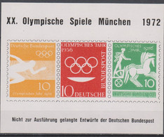 Olympics 1972 - History - GERMANY - Vignettes MNH - Estate 1972: Monaco