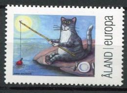 Finnland Alandinseln Finland Aland Islands Mi# 394 Postfrisch/MNH - Cat Cartoon - Ålandinseln