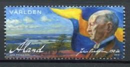 Finnland Alandinseln Finland Aland Islands Mi# 409 Postfrisch/MNH - President - Ålandinseln