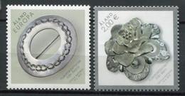 Finnland Alandinseln Finland Aland Islands Mi# 413-4 Postfrisch/MNH - Silver Gems - Ålandinseln