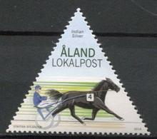 Finnland Alandinseln Finland Aland Islands Mi# 406 Postfrisch/MNH - Horse Sports - Ålandinseln