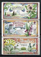 Finnland Alandinseln Finland Aland Islands Mi# 422-4 Postfrisch/MNH - Flora Medical Plants - Ålandinseln
