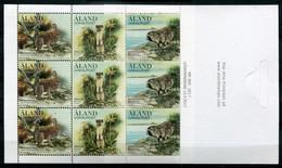 Finnland Alandinseln Finland Aland Islands Mi# MH 24 Stamp Booklet Postfrisch/MNH - Fauna - Ålandinseln