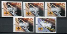 Finnland Alandinseln Finland Aland Islands Mi# ATM 9-10 Postfrisch/MNH - Figureheads - Ålandinseln
