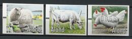 Finnland Alandinseln Finland Aland Islands Mi# ATM 11-3 Postfrisch/MNH - Fauna Farm Animals - Ålandinseln