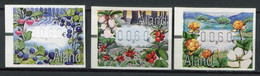 Finnland Alandinseln Finland Aland Islands Mi# ATM 14-6 Postfrisch/MNH - Flora Berries - Ålandinseln