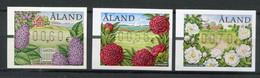 Finnland Alandinseln Finland Aland Islands Mi# ATM 17-9 Postfrisch/MNH - Flora Flowers - Ålandinseln