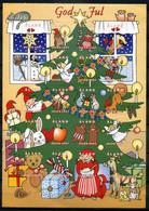 Finnland Alandinseln Finland Aland Islands Christmas Cinderella 1997 Postfrisch/MNH - Full Sheet (little Oily Adhesive) - Ålandinseln
