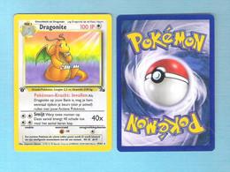 POKEMON  Dragonite   Nederlands  1995 -96 - 98   (PK 001) - Pokemon