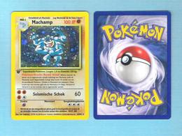 POKEMON  Machamp   Nederlands  1995 -96 - 98   (PK 002) - Pokemon