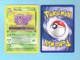 POKEMON  Weezing   Nederlands  1995 - 96 - 98   (PK 012) - Pokemon