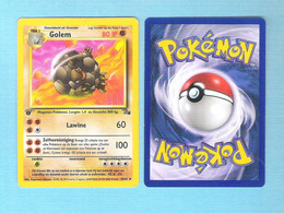 POKEMON  Golem Nederlands  1995 - 96 - 98   (PK 017) - Pokemon