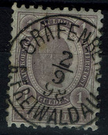 AUSTRIA 1896 KAISER FRANZ JOSEPH MI No 67 USED VF!! - Used Stamps