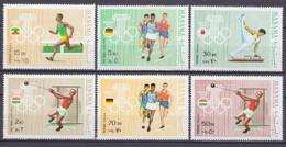 1969 Manama 343-351 1972 Olympic Games In Munich 6,50 € - Estate 1972: Monaco