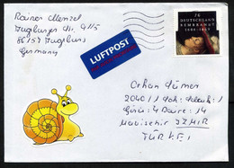 Germany (BRD) 2006 Mi 2550, Rembrandt, Painters, Paintings   Joint Issues   Postal Used Air Mail Cover - Briefe U. Dokumente