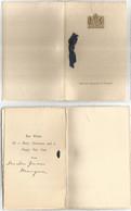 Uk Britain Diplomatic Service - British Embassy In Turkey - Official New Year's Wishes Folder From The 50's - Wetten & Decreten