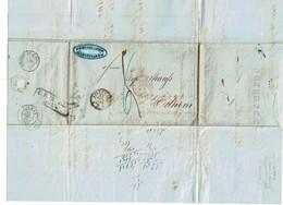 CTN74 - LAC JUILLET 1856 TAXE 6 - Wuerttemberg