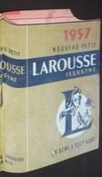 Petit Calendrier De Poche 1957 Larousse Illustré - Petit Format : 1941-60