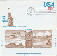 USA Aerogramme FDC 29-12-1980 Tour The United States - 3c. 1961-... Covers