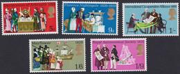 GRANDE-BRETAGNE, 1970, Commémoration (Yvert 586 Au 590 ) - Unused Stamps