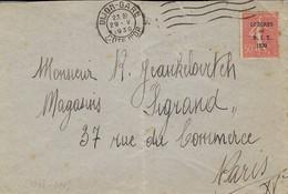 1930- Enveloppe De Dijon-Gare Affr. N°264 Seul Pour Paris - Briefe U. Dokumente