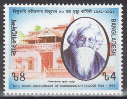 Bangladesh - YT 347 ** MNH - 1991 - R. Tagore - Prix Nobel De Littérature 1913 - Bangladesh