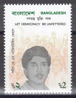 Bangladesh - YT 351 ** MNH - 1991 - Let Democracy Be Unfettered - Bangladesh