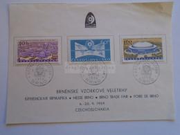 D185132 Czechoslovakia 1959 International Fair In Brno, Michel 1146-1148  Messe Brno -Foire De Brno - Used Stamps