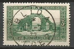 ALGERIE N° 103 CACHET BLIDA - Used Stamps