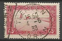 ALGERIE N° 113A CACHET TLEMCEN - Used Stamps
