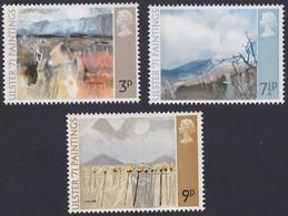 GRANDE-BRETAGNE, 1971, Tableaux De Peintres Irlandais (Yvert 621 Au 623 ) - Unused Stamps