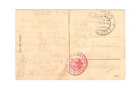 1. WK K.u.k. Festungskommando Trento Trentino N. Sulzberg Vorarlberg - Covers & Documents