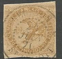AIGLE N° 3 CACHET A DATE ST BENOIT - Used Stamps