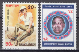Bangladesh - YT 340-341 ** MNH - 1991 - President Ziaur Rahman (1936-1981) - Bangladesh