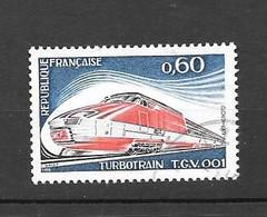 France: N°1802 Oblit, Turbotrain TGV 001 - Gebraucht