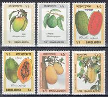 Bangladesh - YT 311-316 ** MNH - 1990 - Fruits - Bangladesh