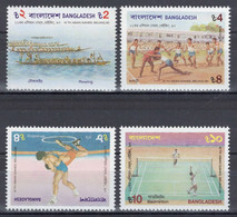 Bangladesh - YT 322-325 ** MNH - 1990 - Sports - Bangladesh