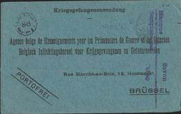 Card From Belgian POW In Germany, Kriegsgefangenenlager Soltau 21.6.1918 Confirming Receipt Of Shipment  (DD33-19) - WW1 (I Guerra Mundial)