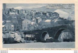 ESPAGNE  PUIGCERDA  Puente S. Marti Y Vista Parcial En Invierno    ............ - Gerona