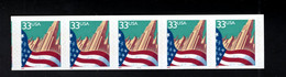 1372186691 1999 SCOTT 3281C (XX) POSTFRIS MINT NEVER HINGED  EINWANDFREI - FLAG & CITY   PCN5 PLATE 5555 - Ungebraucht
