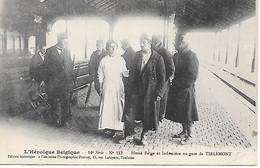 A/513    Belgique                       L'héroique Belgique -    Blessé Belge Et Infirmiére En Gare De TIRLEMONT - Other