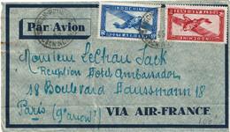 CTN74 - INDOCHINE LETTRE AVION SAÏGON / PARIS - Covers & Documents