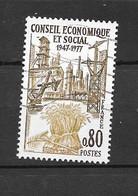 France: N°1957 Oblit, Conseil économique Et Social - Gebraucht