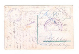 Feldpost 1.Weltkrieg Zensur Feldkirch Vorarlberg - Covers & Documents