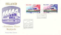 Iceland 1973 FDC NORDEN (DD33-19) - FDC