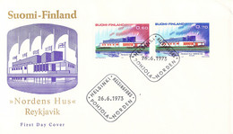 Finland 1973 FDC NORDEN (DD33-19) - FDC