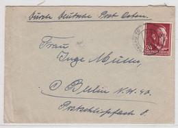 Generalgouvernement Brief Mit EF - Besetzungen 1938-45