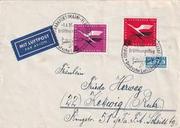 BUND 1955 PLI AERIEN DE FRANKFURT - Briefe U. Dokumente