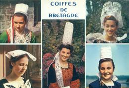 La BRETAGNE En Couleurs ( Jeunes Filles En Costumes ) Recto Verso - Other